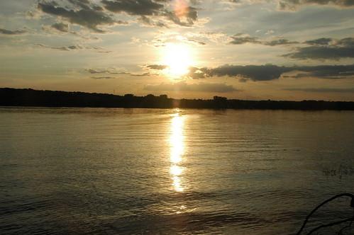 sunset wisconsin rivers stcroixriver greatoutdoors