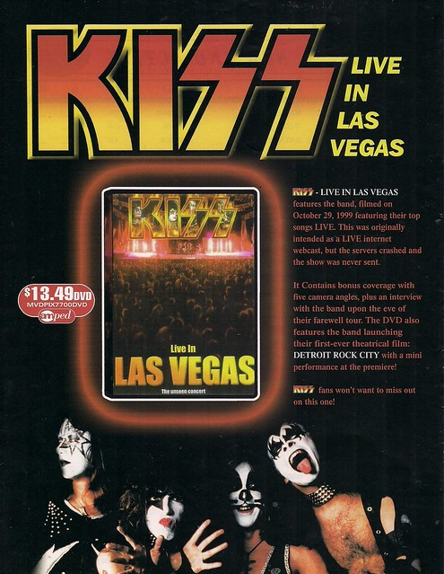 04-02-00 Kiss Live In Las Vegas DVD Released (Ad)0001