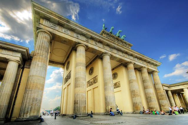 Brandenburg Gate Map Brandenburg Gate Flickr
