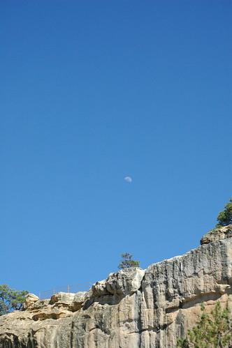 moon newmexico canyon elmorro boycanyon