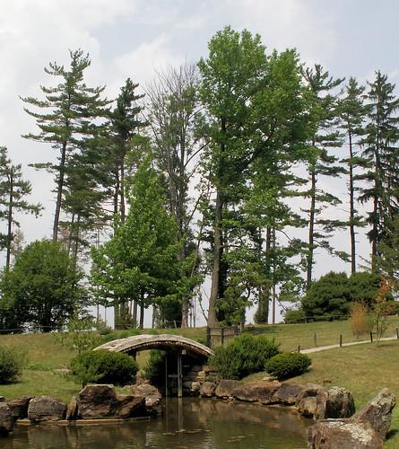 bridge trees ohio lake nature garden japanese landscapes pond minolta outdoor arboretum konica newark dimage dawes slickr z6 jacksontown