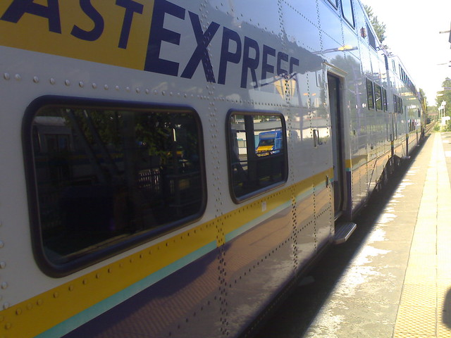 West Coast Express at Port Moody Station