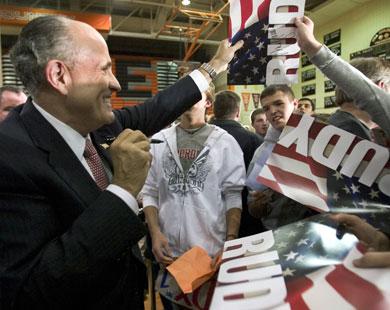 Rudy in Iowa