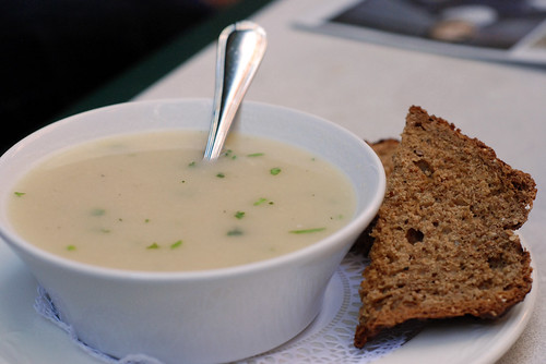 soup + irish soda bread