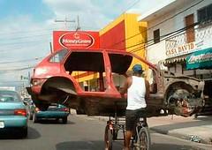 bike carries car