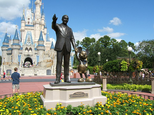 Walt and Mickey - Magic Kingdom