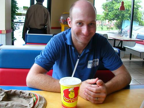 June 8 2010 Tip-Top, fast food in Nicaragua