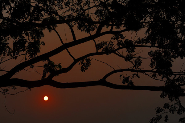 Sunset at Keranigonj