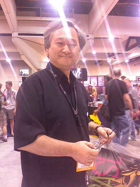 Stan Sakai at SDCC 2007