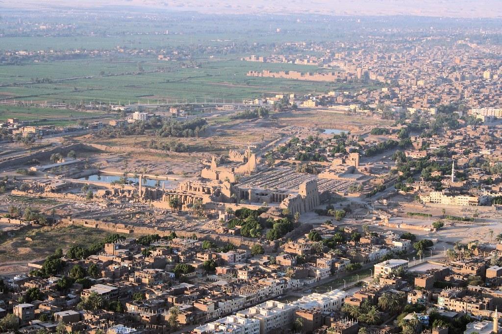 Aerial View of Karnak