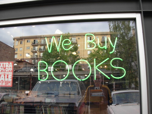 Self Portrait - We Buy Books, Half Price Books Capitol Hill, Seattle Washington