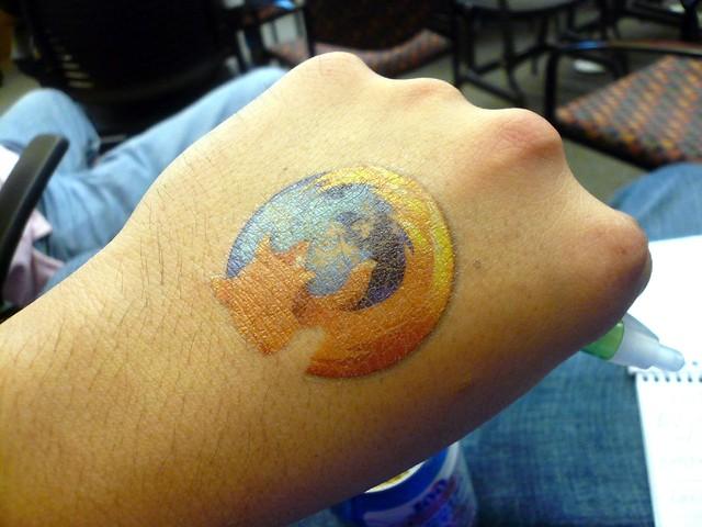 firefox tattoo