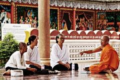 temple, monk,