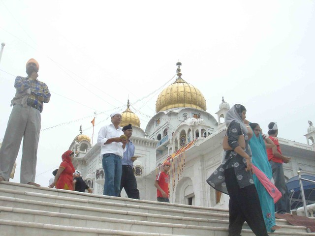 Worshipping Wahe Guru
