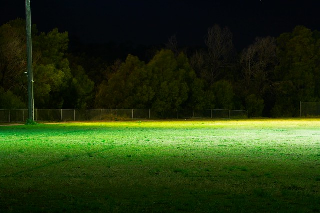 Soccer field at night | Flickr - Photo Sharing!