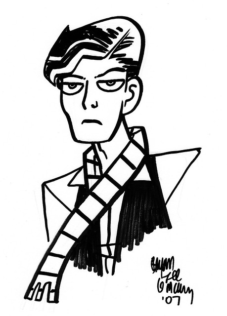 david bowie by bryan lee o'malley