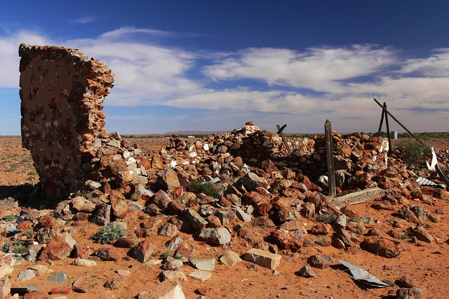 Abandoned Farina Township - Adelaide to Alice Springs by Road & Bush Track