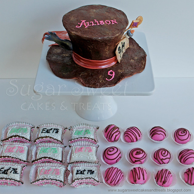 alice in wonderland petit fours