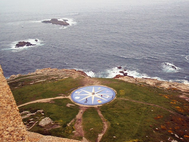 View from the Tower of Hercules @ Galicia,  La Coruña (photo:  jorge.delprado/flickr)