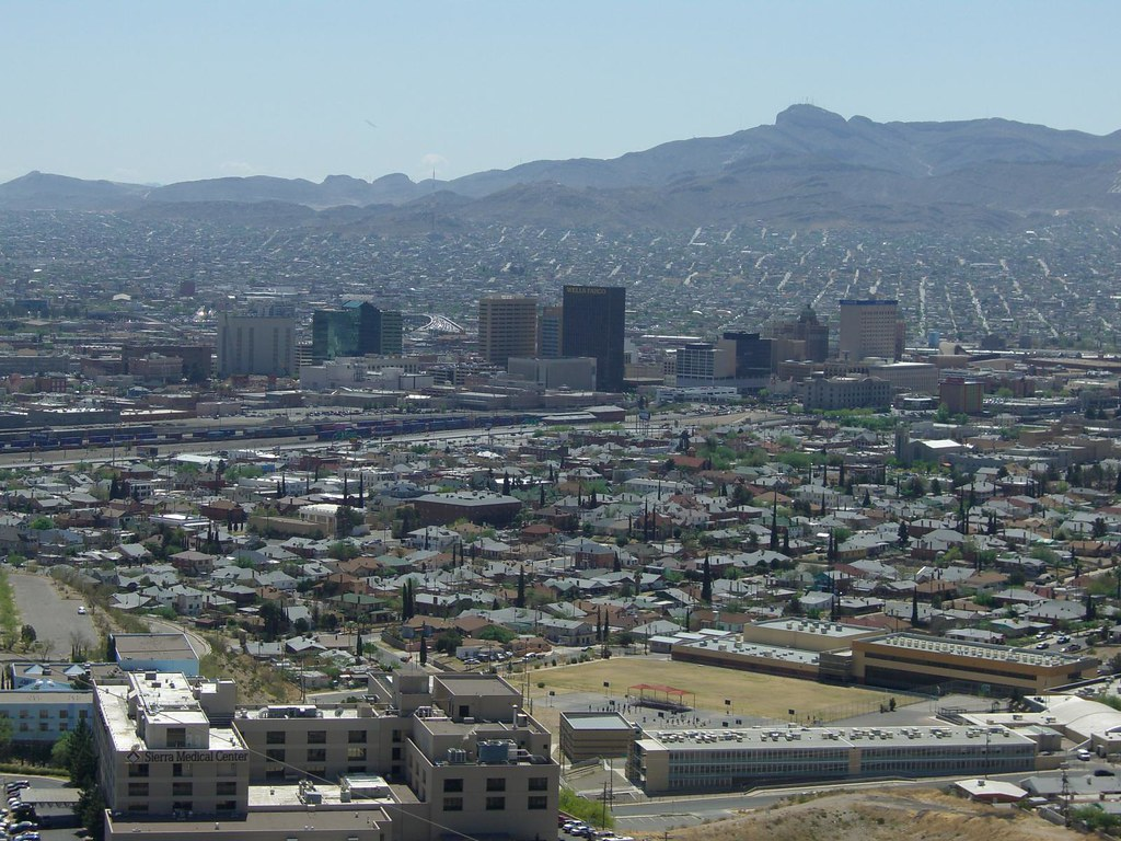Downtown el paso texas from scenic drive a photo on for Sun city motors el paso tx