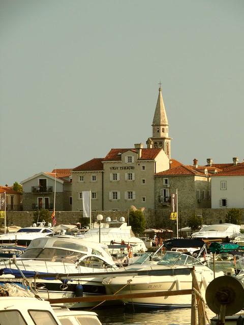 my beautiful town budva, montenegro