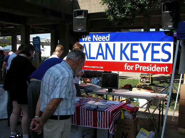Header of Alan Keyes