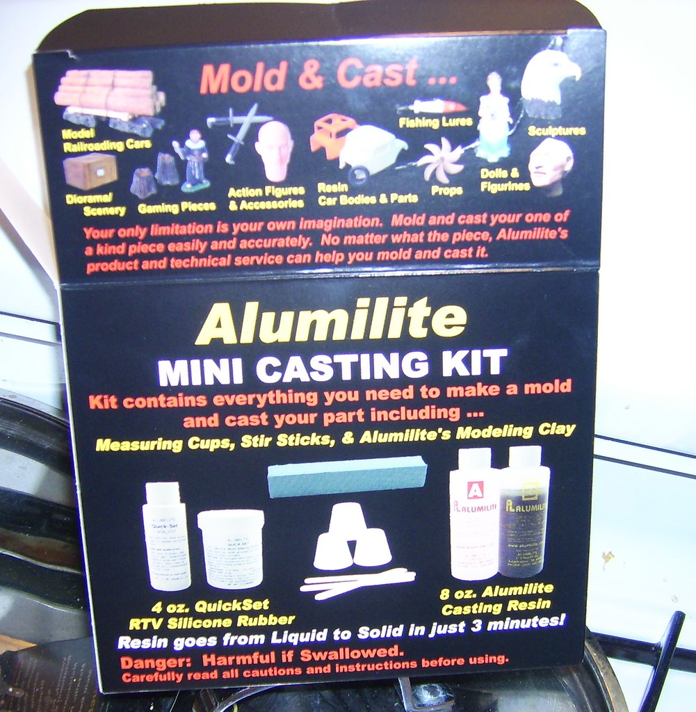 ktingacasting1 | An alumilite mini casting kit  Contains eve… | Flickr