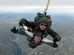 adventure, tandem skydiving, air sports, sports, parachuting, extreme sport,