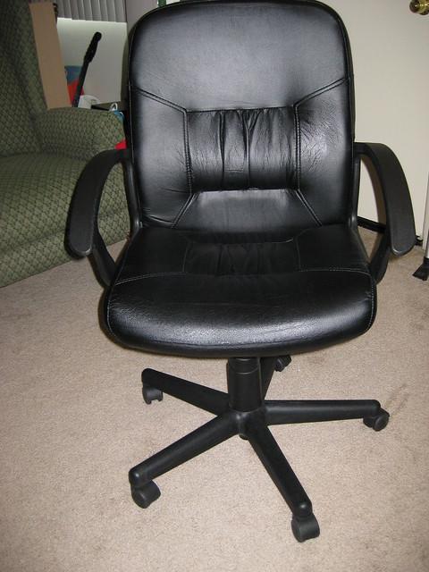 Black ikea desk chair | Flickr - Photo Sharing!