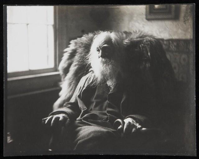 Walt Whitman by Samuel Murray, Camden 1891