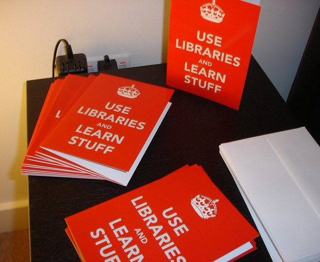 Use Libraries and Learn Stuff cards