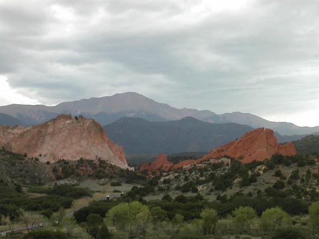 Garden Of The Gods Near Denver Colorado
