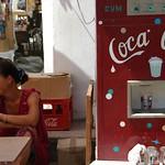 Coca-Cola Machine at Market - Nukus, Uzbekistan