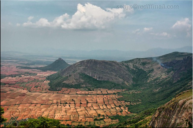 View Of Kambam Theni Tamilnadu Villiages From
