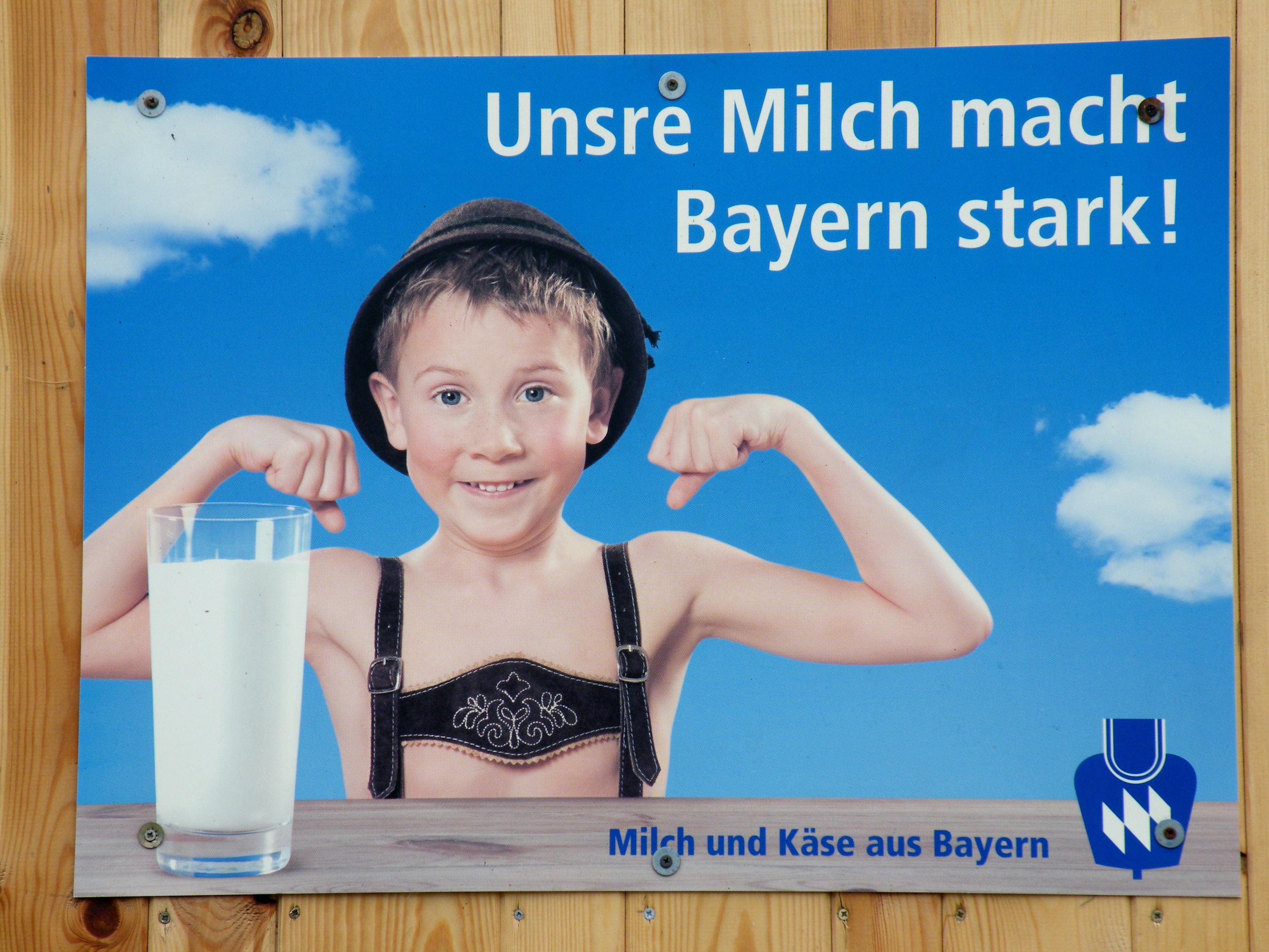 Unsere Milch Macht Bayern Stark Flickr Photo Sharing