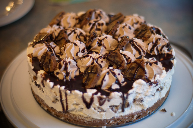 Chocolate Chip Cookie Ice Cream Cake | Flickr - Photo Sharing!
