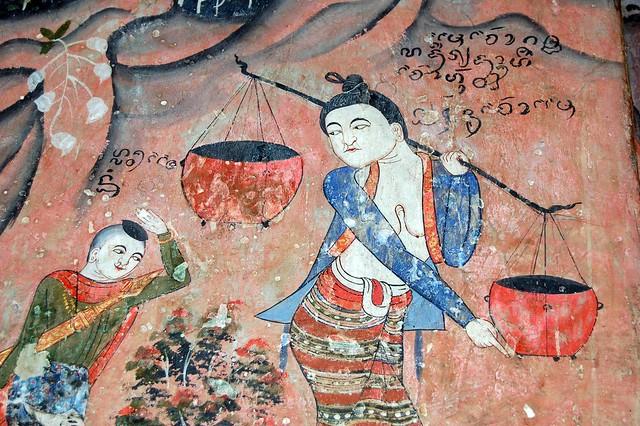 Lanna lady - Wat Phumin