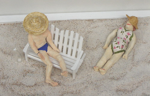 Summer days in miniature by Anna Amnell
