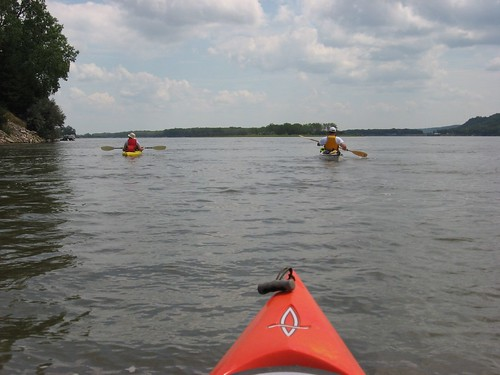 Kayaking the lakes of south dakota the missouri river in for Missouri river fishing report south dakota
