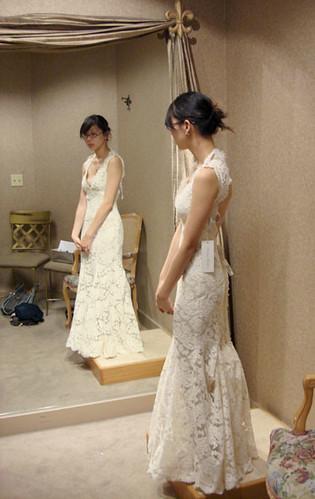 The dress again last one i swear for Wedding dress alterations columbus ohio