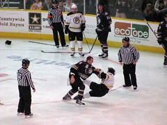 Providence Bruins vs. Manchester Monarchs, March 28, 2010.