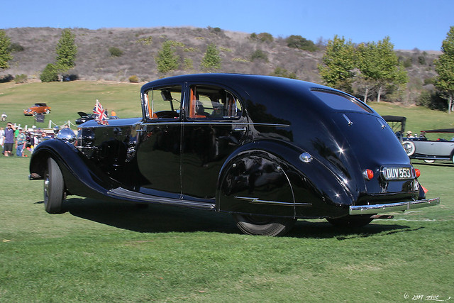 1937 Rolls-Royce Phantom III Touring Limousine - Mulliner - rvl-1