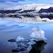 Jokulsarlon Iceberg by Rob Kroenert