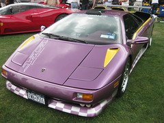 lamborghini jalpa(0.0), automobile(1.0), lamborghini(1.0), vehicle(1.0), performance car(1.0), automotive design(1.0), lamborghini(1.0), land vehicle(1.0), luxury vehicle(1.0), lamborghini diablo(1.0), supercar(1.0), sports car(1.0),