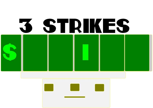 Header of 3 Strikes