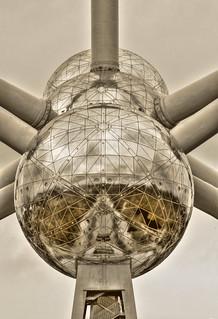 Brüssel BE - Atomium 04