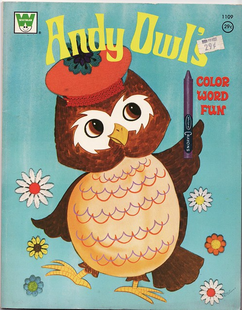 Andy Owls Color Book