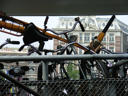 Alternative bike parking