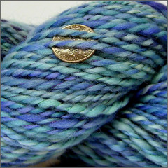 Blue Moon yarn close-up