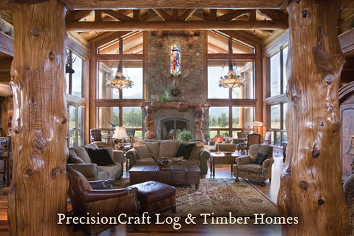 Handcrafted Custom Design Great Room View